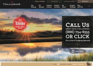 Telluride homepage