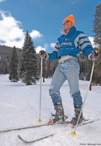 Jeans ski free today