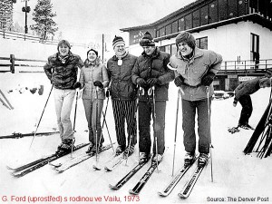 VR5 Gerald Ford in Vail 1973