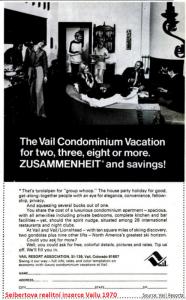 VR8 Vail Condo ad 1970
