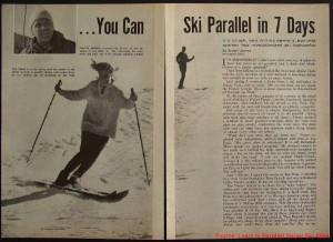 Parallel ski 1964